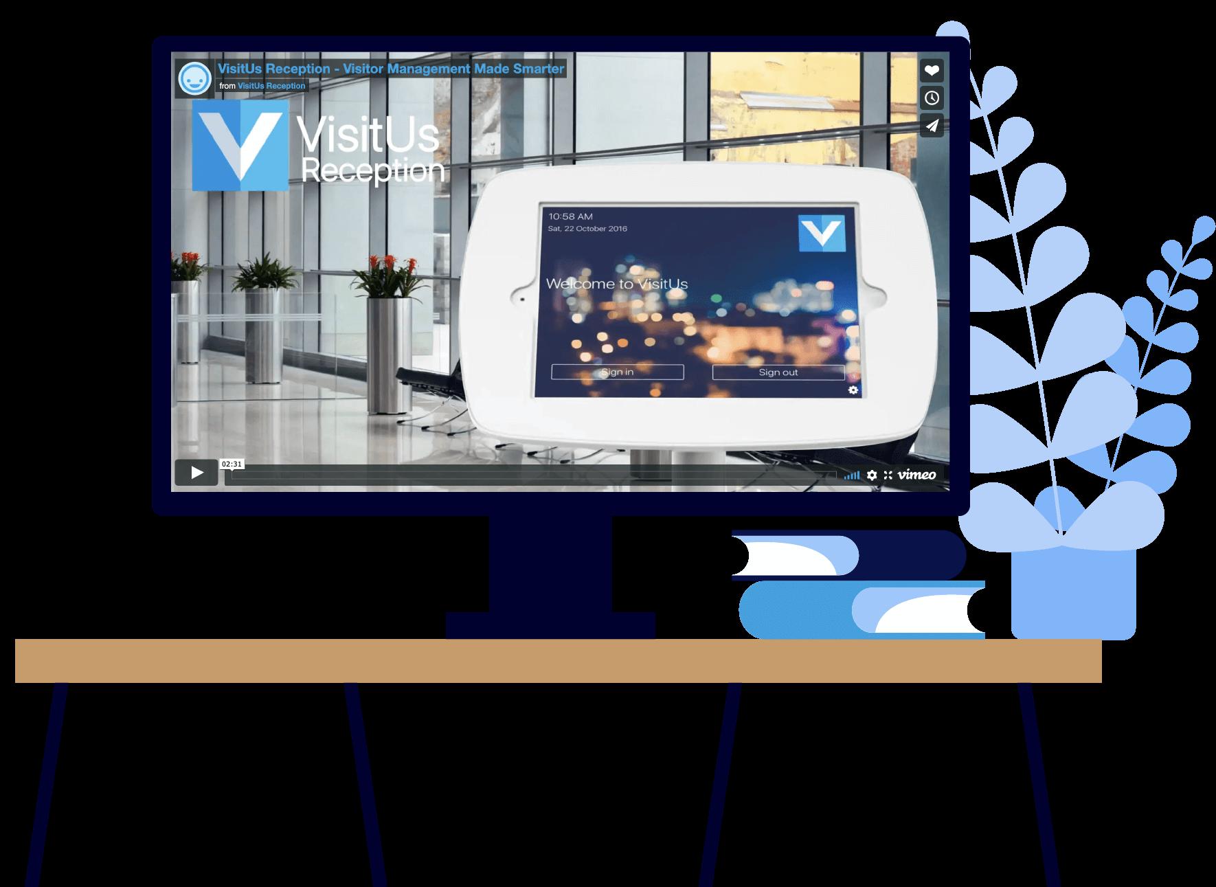 Visit Us Reception Video