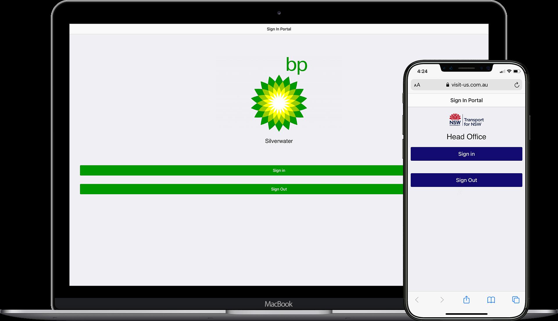 Visitors Management Web Portal