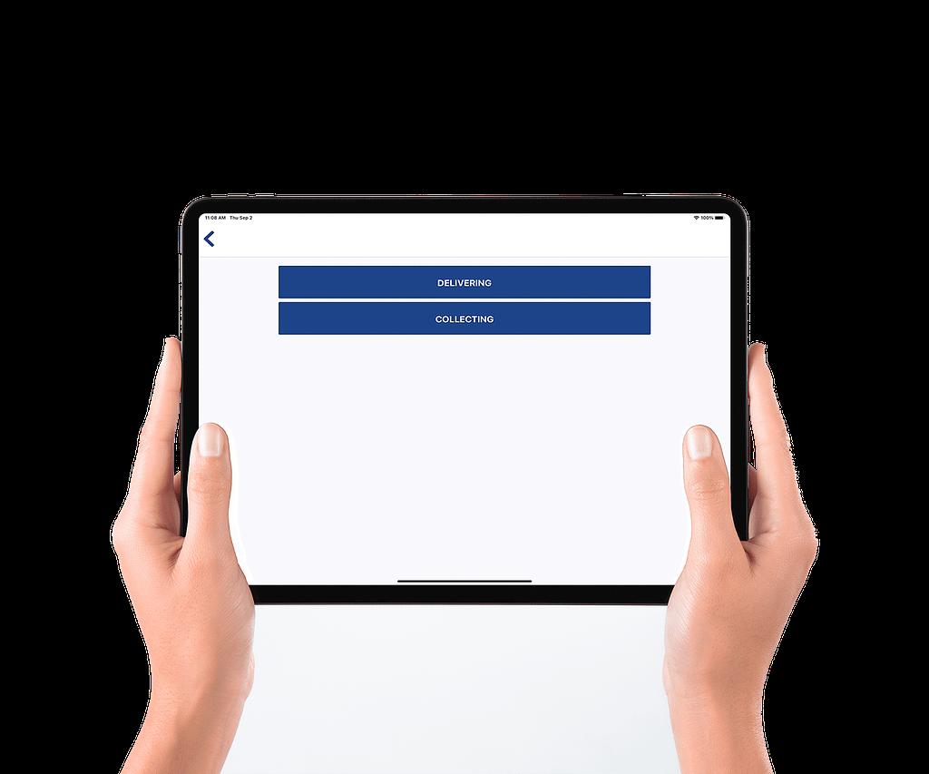 Delivery management software system