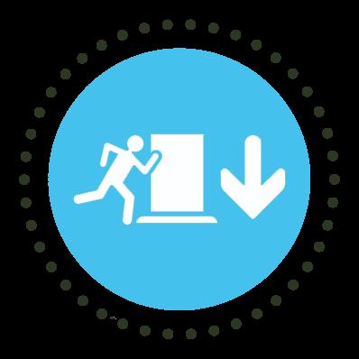 Evacuation Icon
